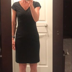 Banana Republic Black Sheath dress